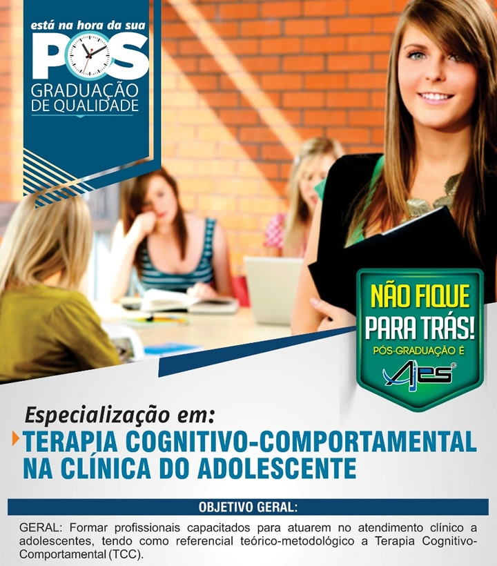 TERAPIA COGNITIVA COMPORTAMENTAL NA CLÍNICA DO ADOLESCENTE